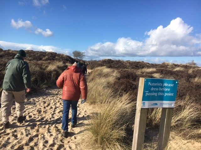 Studland beach and dunes