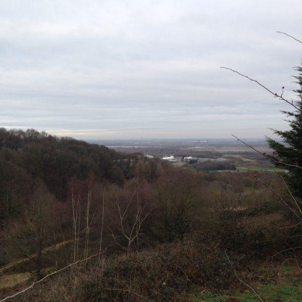View from Greensand Ridge