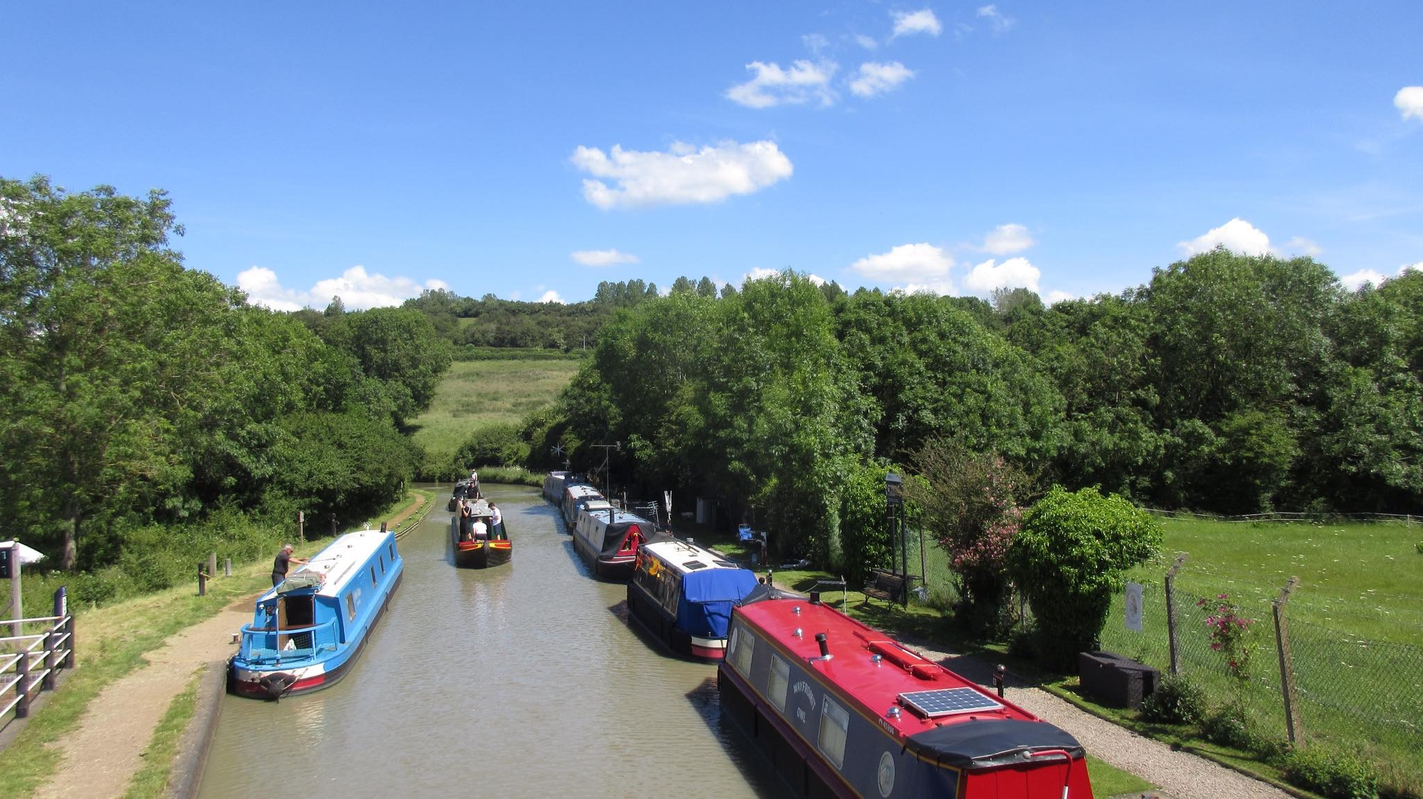Napton-on-the-Hill: canals, parkland and fields
