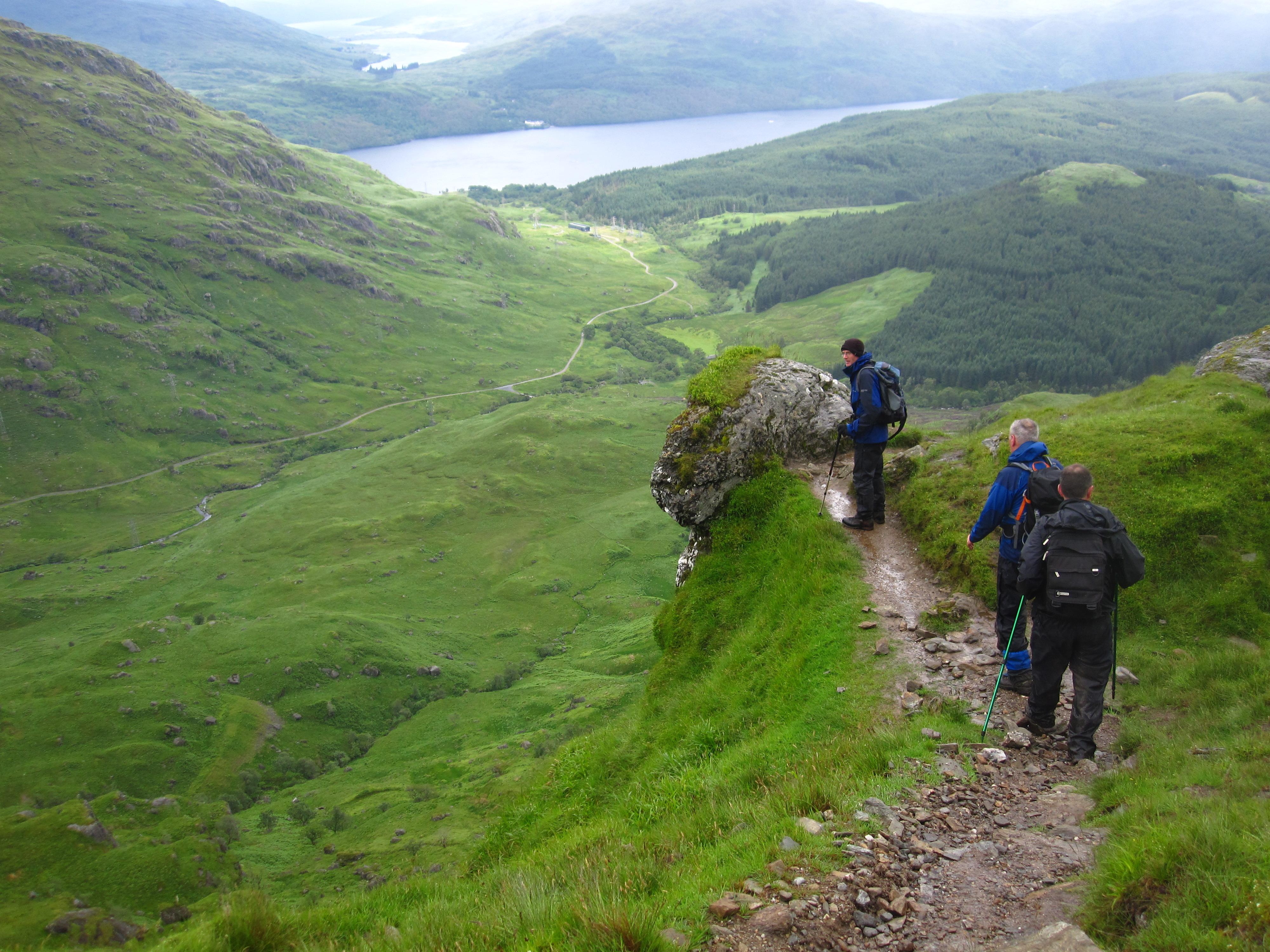 Ben Vorlich (Loch Lomond) by Loch Sloy
