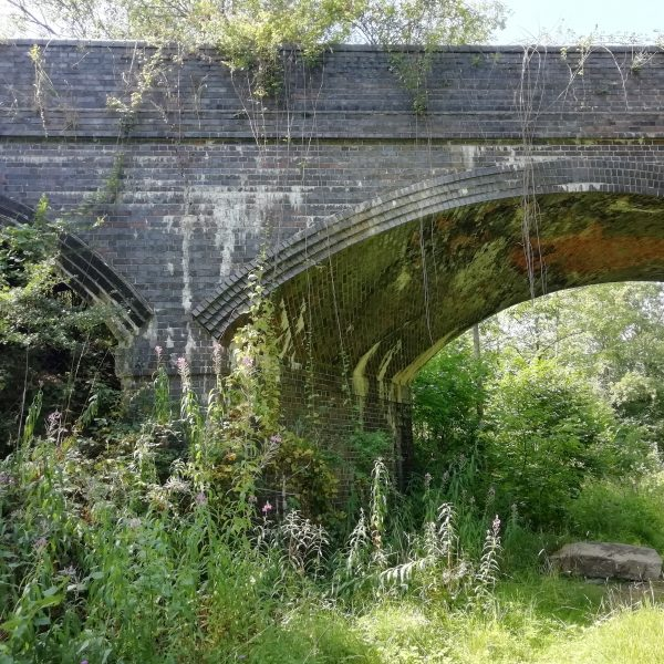 Railway Bridge old Bedford - Northampton line